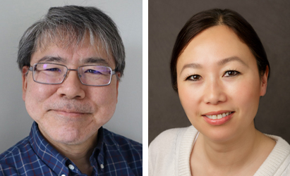 Hiroshi Nakagawa and Kelley Yan